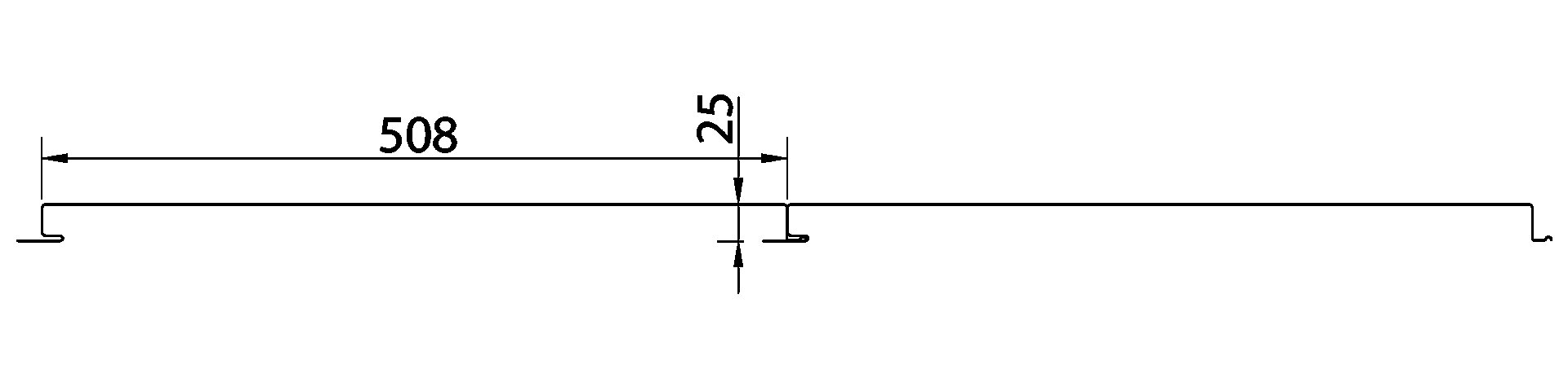 Perfil Cielorraso y Fachada 30 / 50